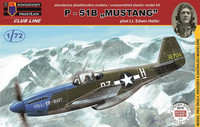 "North American P-51B Mustang ""Pilot Heller"" 1/72"