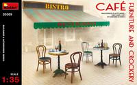 Cafe Furniture & Crockery 1/35