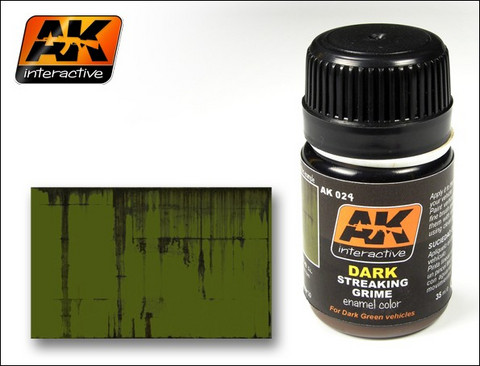 Streaking Grime for Dark Vehicles