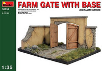 Farm Gate with Base 1/35