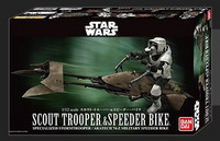 Imperial Scout trooper with Speeder bike