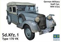 SdKfz 1 Type 170 VK German Military Staff Car 1/35