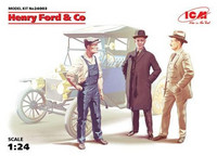 Henry Ford & Co ( 3 Figures) 1/24