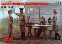 Soviet Military Servicewomen 1939-1942 1/35