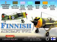Finnish Aircraft WWII Colors