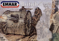 British (WWI) Artillery 1/35