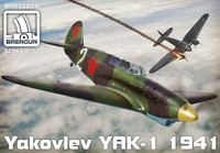 Yakolev Yak-1 Model 1941 1/72