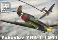 Yakolev Yak-1 Model 1941 1/72