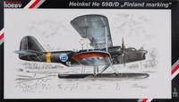 Heinkel He 59B/D Finland marking 1/72