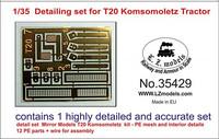 Detailing Set for T20 Komsomoletz Tractor