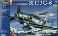 Messerschmitt Bf 109 G-6 New Tooling 1/32