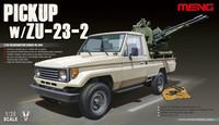 """Pick-Up with ZU-23-2 \""""Sergei\"""" 1/35"""