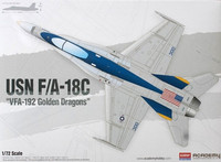 McDonnell-Douglad F/A-18C Hornet VFA-192 Golden Dragons 1/72