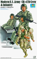 MODERN U.S. ARMY CH-47D CREW & INFANTRY 1/35