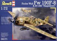 """Focke Wulf Fw 190 F-8 & Bv 246 """"Hagelkorn"""" 1/72"""
