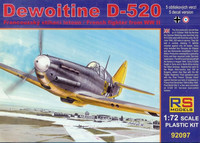 Dewointine D-520 (Luftwaffe markings) 1/72
