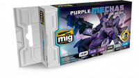 Purple Mechas Color Set