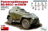 Pancerspahwagen BA-64(r) w/Crew 1/35