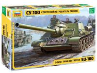SU-100 Soviet Tank Destroyer 1/35