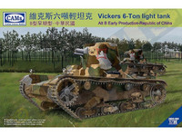 Vickers 6ton Light Tank (Alt B Early prod. China) 1/35