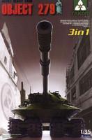 Object 279 Soviet Heavy Tank (3in1) 1/35