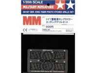 Tiger II (H) King Tiger Photo-Etched Grille Set 1/35