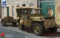 GPW ¼ Ton 4 X4 Utility Truck Model 1942 with 3.7cm Anti_tank Gun 1/35