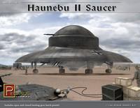 Haunebu II Reichsflugscheibe