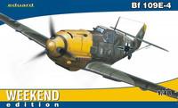 """Messerschmitt Bf 109E-4 """"Weekend Edition"""" 1/48"""