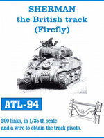 Sherman British Firefly Tracks 1/35
