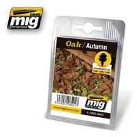 Oak Leaves Autumn Color