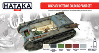 WW II AFV Interior Colours Paint Set