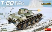 T-60 Early Series Soviet Light Tank (Interior Kit) 1/35