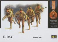 US Assault Team D-Day, June 6th, 1944 1/35