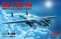 Dornier Do 17Z-10 German Night Fighter 1/48