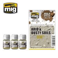 Arid & Dusty Soils (Mud & Earth Sets)