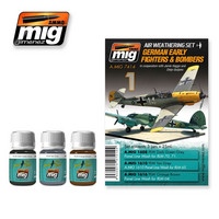 German Early Fighters and Bombers Weathering Set