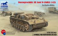 """Sturmgeschutz III Ausf.D """"El Alamein"""" 1/35"""
