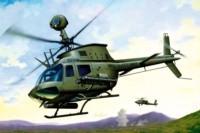 OH-58 D COMBAT SCOUT/KIOWA 1/72