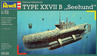 Type XXVII B Seehund 1/72