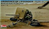 Ordnance QF 2 PounderMk.IX with Carriage Mk.II 1/35