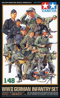German Infantry Set 1/48