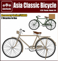 Asian Classic Bicycle 1/35
