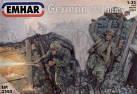 German (WWI) Infantry and tank crew 1/35