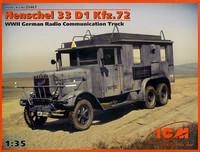 Henschel 33 D1 Kfz.72 Radio Communication Truck 1/35