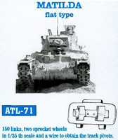 Matilda Flat type tracks 1/35