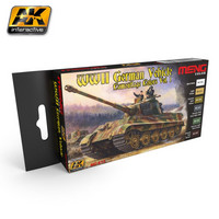 WWII German Vehicle Camouflage Colors Set