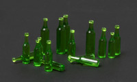 Beer Bottles 16pcs 4 types 1/35
