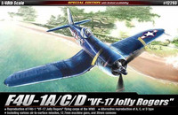 "F4U-1A/C/D Corsair ""VF-17 Jolly Rogers"" (Special Edition) 1/48"