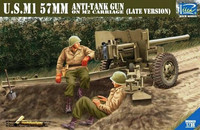 U.S.M1 57mm Anti-Tank Gun on M2 Carriage (Late version) 1/35